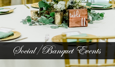 Social / Banquet Events