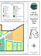 Image of Downtown Master Plan with link to map