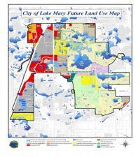 Image of future Land Use Map with link to map