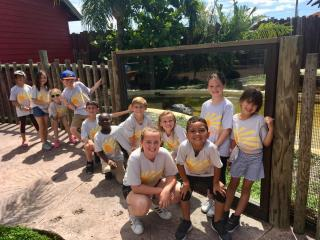 Lake Mary Summer Camp on field trip